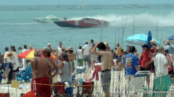 Last weekend on Englewood Beach - 2014 Super Boat Races ...