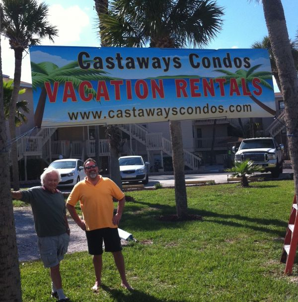 New sign - Castaways Condos
