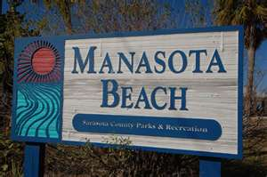 Manasota Beach Sign